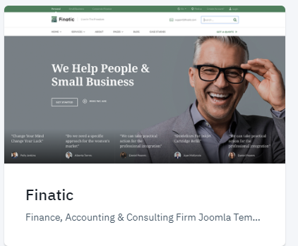 Complete Joomla Accounting Firm Package